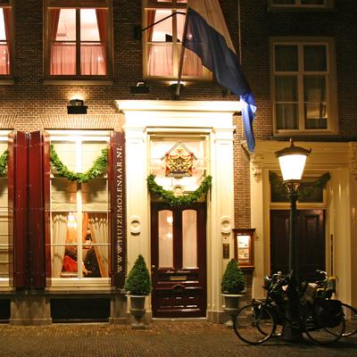 Huize Molenaar in kerstsfeer