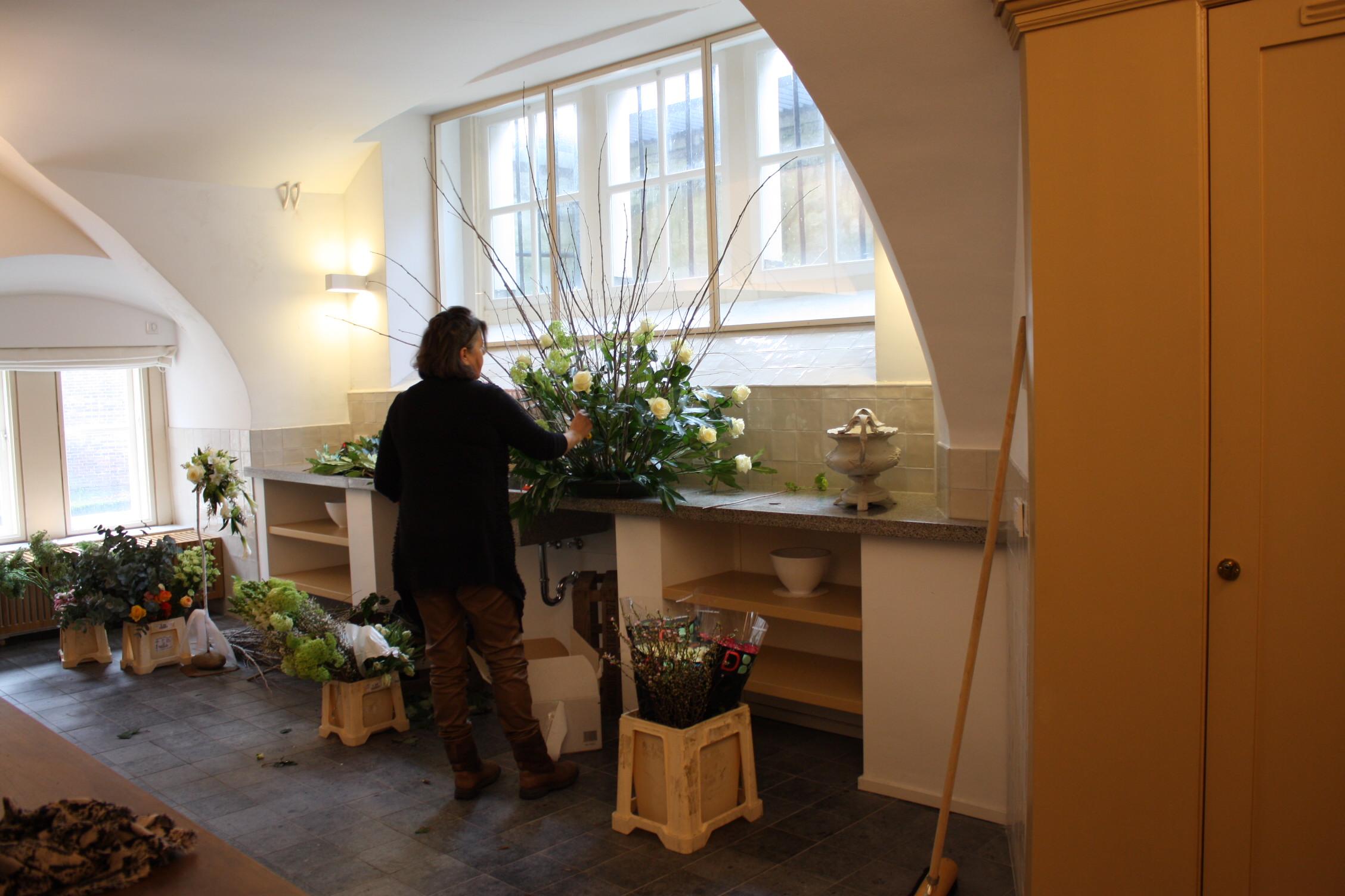 De keuken in Paushuize